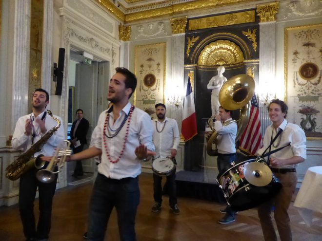Le groupe Nola French Connection Brass Band