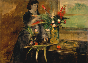 Portrait of Estelle Musson Degas, Edgar Degas