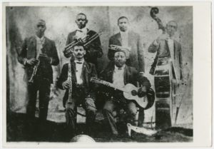 Le Bolden's band (possible vers 1898) / View of Bolden's band (possibly c. 1898)