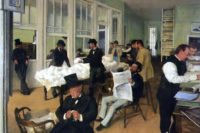 A Cotton Office in New Orleans, Edgar Degas