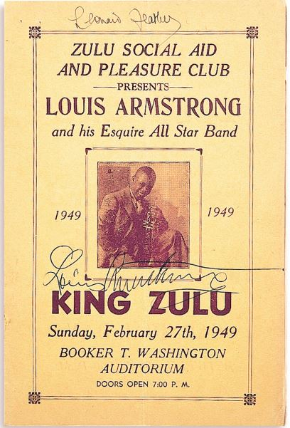 Louis Armstrong King Zulu 1949